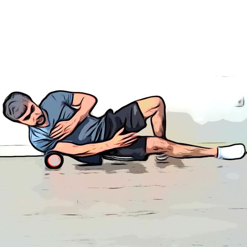 Auto-massage épaules/triceps