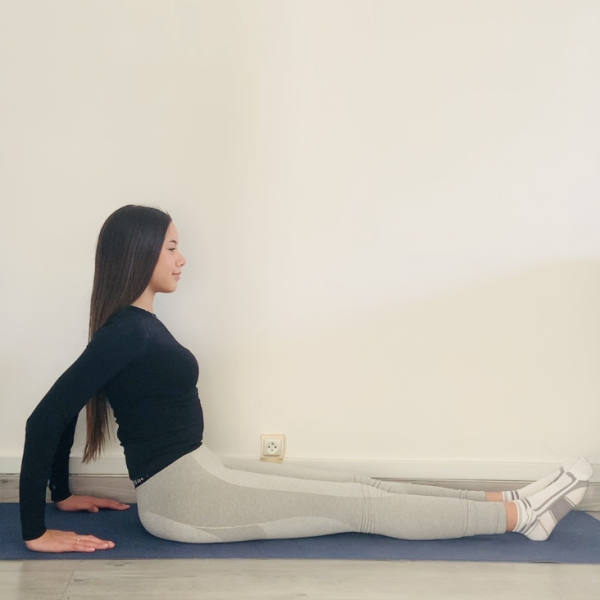 La planche inversée ou Purvottanāsana - Yoga - Etape 1