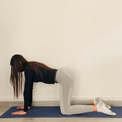 La posture de la planche ou Kumbhakāsana-dandāsana - Yoga - Etape 1