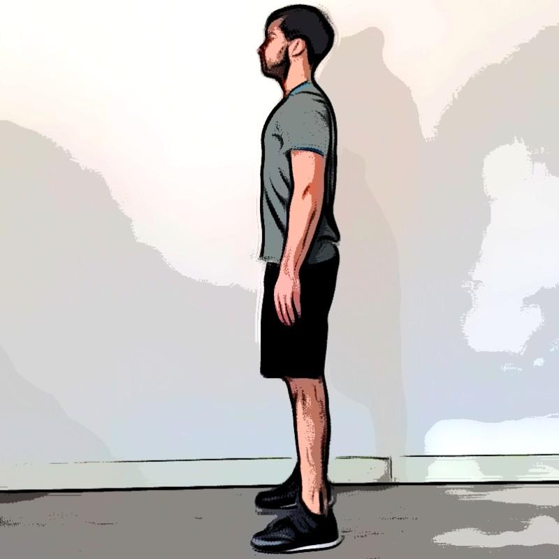 Jump squat - Etape 5