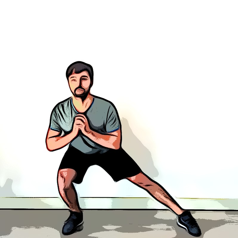 Miniature Side squat