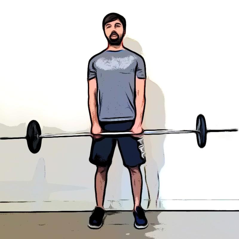 Rowing/tirage menton - Etape 1