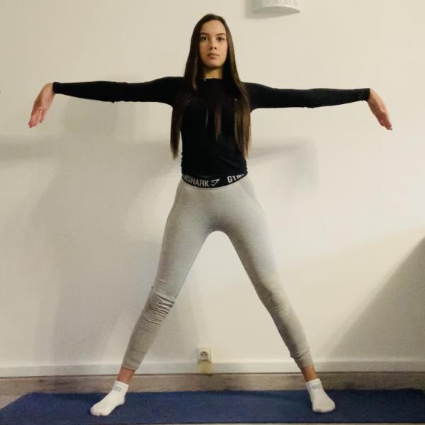 La posture de la mouette ou Bhega Kriya - Yoga - Etape 1
