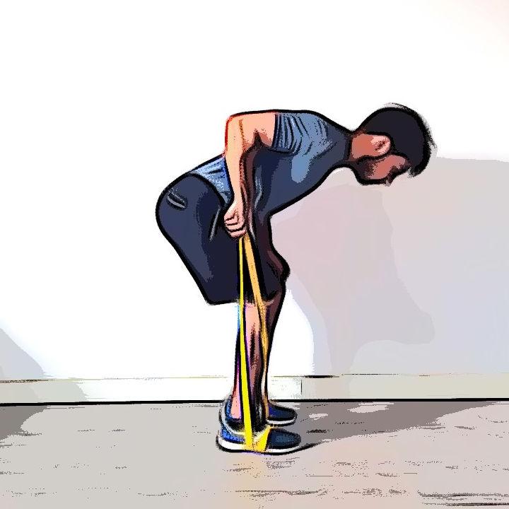 Kickback avec élastique 1 - Etape 3