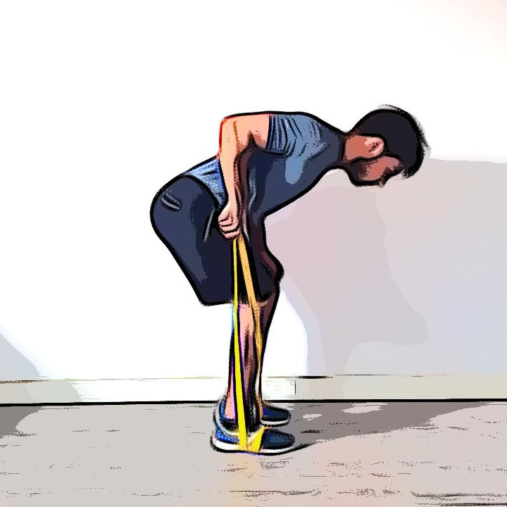 Kickback avec élastique 1 - Etape 1