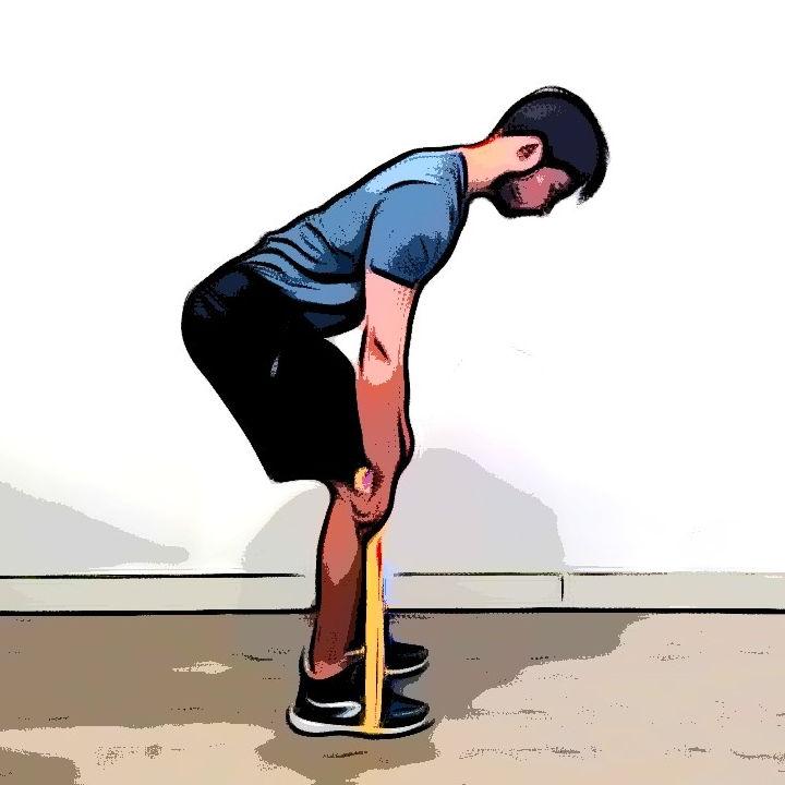 Rowing avec élastique - Etape 1