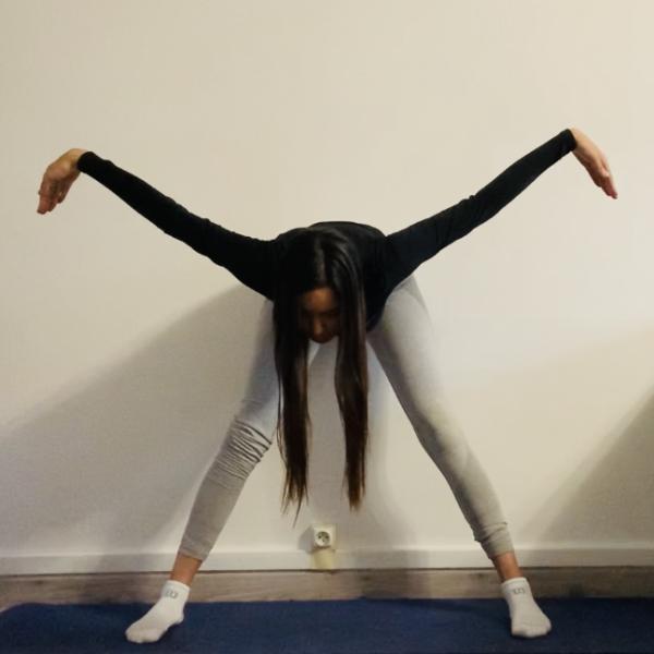La posture de la mouette ou Bhega Kriya - Yoga