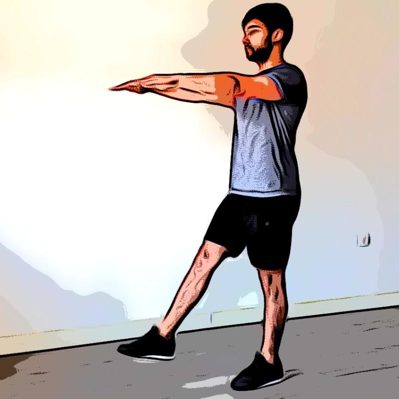 Squat 1 jambe / Pistol - Etape 1