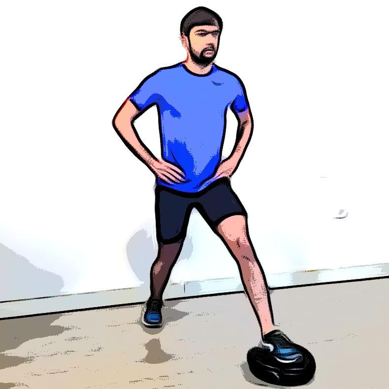Fente avec coussin d'équilibre - Etape 3