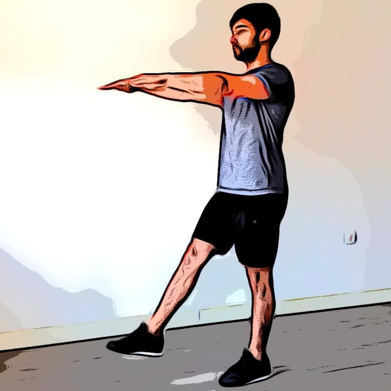 Squat 1 jambe / Pistol - Etape 3