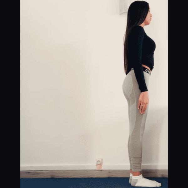 Le guerrier 1 ou Virabhadrāsana 1 - Yoga - Etape 1