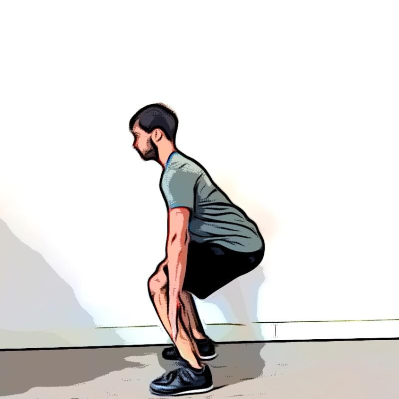 Jump squat - Etape 2