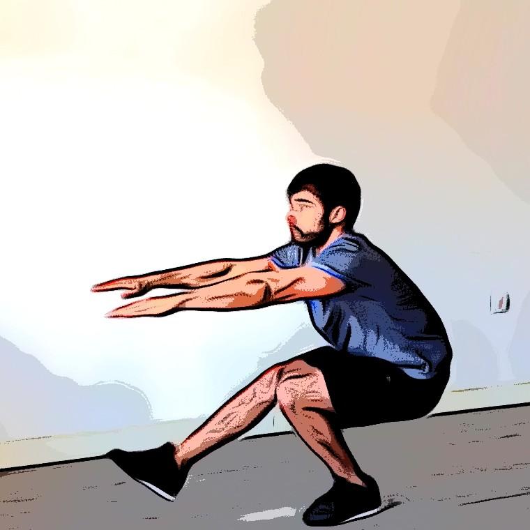 Squat 1 jambe / Pistol - Etape 2
