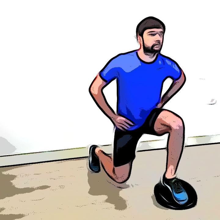 Fente avec coussin d'équilibre - Etape 2