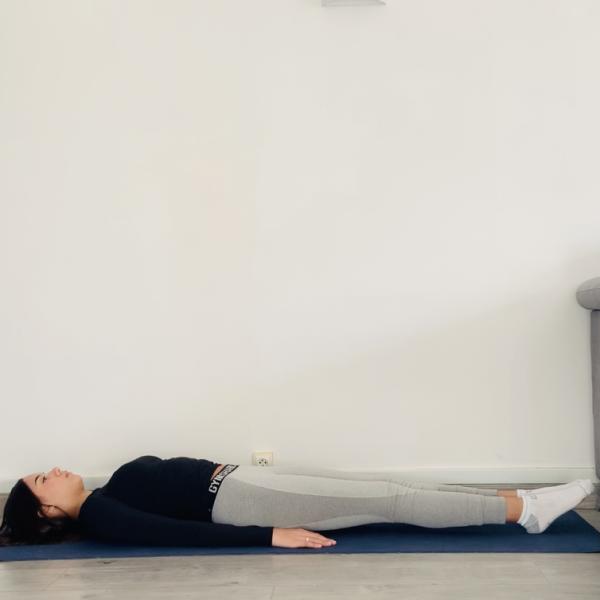 Le souffle du vent ou Apanāsana - Yoga - Etape 1