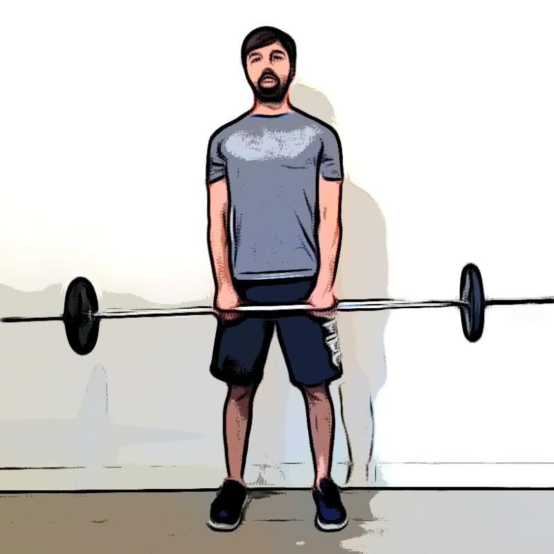 Rowing/tirage menton - Etape 3