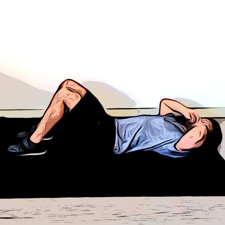 Sit-up - Etape 3