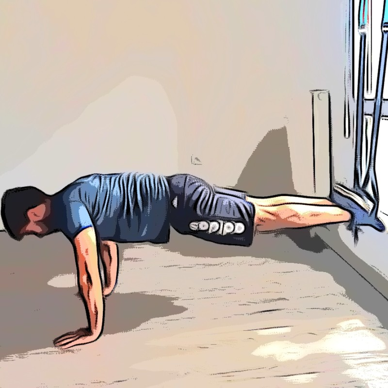 TRX gainage planche