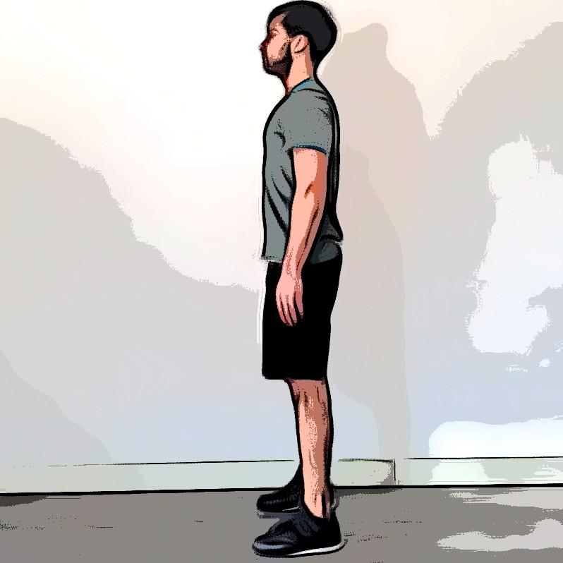 Jump squat - Etape 1