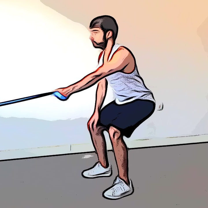 Tirage horizontal avec élastique 2