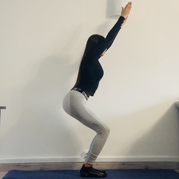 Miniature La chaise yogique ou Utkatāsana - Yoga