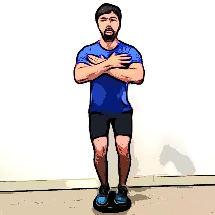Équilibre 2 jambes - Etape 1